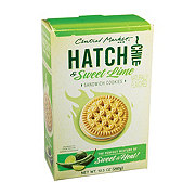 Central Market Hatch Chile and Lime Sandwich Cookies