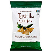 Central Market Hatch Green Chile Tortilla Chips