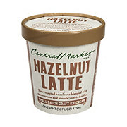 Central Market Hazelnut Latte Ice Cream