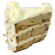 Central Market Italian Creme Cake Slice
