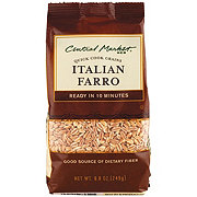 Central Market Italian Farro Quick Cook Grains