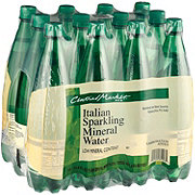 Central Market Italian Sparkling Mineral Water 12 Pack