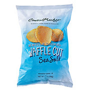 Central Market Kettle Cooked Waffle Cut Sea Salt Potato Chips