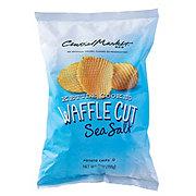 Central Market Kettle Cooked Waffle Cut Sea Salt Potato Chips