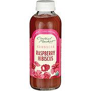 Central Market Kombucha Raspberry Hibiscus