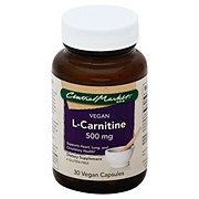 Central Market L-Carnitine 500 Mg Vegan Capsules