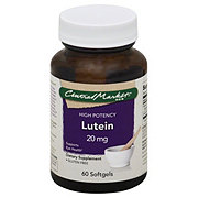 Central Market Lutein 20 mg Softgels