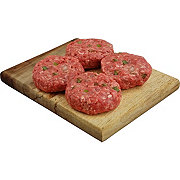 Central Market Mild Hatch Slider Mini Seasoned Beef Burgers