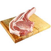 Central Market Natural Berkshire Pork Tomahawk Bone-in Rib Chops
