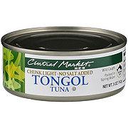Central Market No Salt Added Chunk Light Tongol Tuna