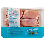 Central Market Organic Air Chilled Boneless Skinless Chicken Thighs