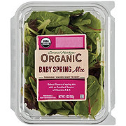 Central Market Organic Baby Spring Mix