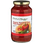 Central Market Organic Tomato & Basil Pasta Sauce