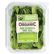 Central Market Organics Baby Spinach and Baby Kale