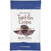 Central Market Organics Blue Corn Tortilla Chips with Sea Salt