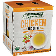 Central Market Organics Chicken Broth 6 Pk