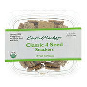 Central Market Organics Classic 4 Seed Snackers