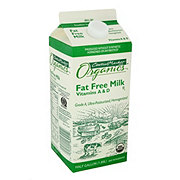 Central Market Organics Fat Free Milk