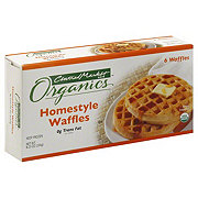 Central Market Organics Homestyle Waffles