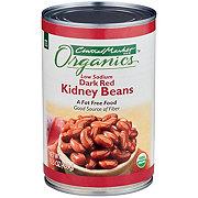 Central Market Organics Low Sodium Dark Red Kidney Beans