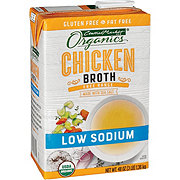Central Market Organics Low Sodium Free Range Chicken Broth