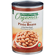 Central Market Organics Low Sodium Pinto Beans