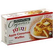 Central Market Organics Mini Apple Cinnamon Waffles