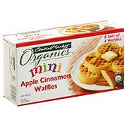 Central Market Organics Mini Apple Cinnamon Waffles