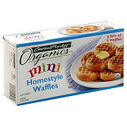 Central Market Organics Mini Homestyle Waffles