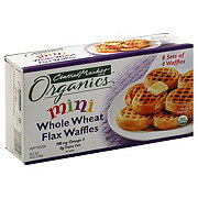 Central Market Organics Mini Whole Wheat Flax Waffles