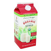 Central Market Organics Plain Soymilk