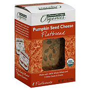 Central Market Organics Pumpkin Seed Cheese Flatbread