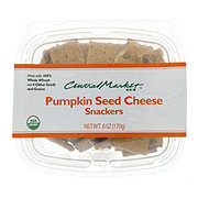 Central Market Organics Pumpkin Seed Cheese Snackers