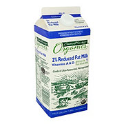 Central Market Organics Reduced Fat 2% Milkfat Milk