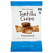 Central Market Organics Soy and Flaxseed Tortilla Chips
