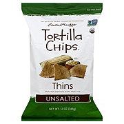 Central Market Organics Ultra Thin Unsalted Tortilla Chips