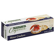 Central Market Organics Water Crackers