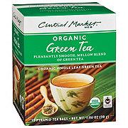 Central Market Organics Whole Leaf Green Pyramid Tea Bags