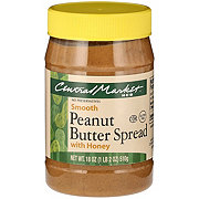 Central Market Peanut Butter with Honey