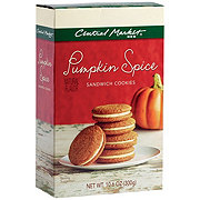 Central Market Pumpkin Spice Sandwich Cookies