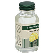 Central Market Pure Lemon Extract
