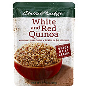 Central Market Quick Heat White & Red Quinoa