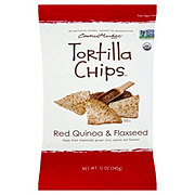 Central Market Red Quinoa & Flaxseed Tortilla Chips