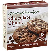 Central Market Refrigerated Chocolate Chunk Cookie Dough