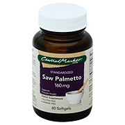Central Market Saw Palmetto Standardized 160 Mg Softgels