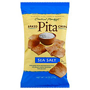 Central Market Sea Salt Baked Pita Chips