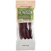 Central Market Semi-Dry Jalapeno Venison Sausage