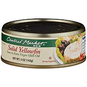 Central Market Solid Yellowfin Tuna In Extra Virgin Olive Oil