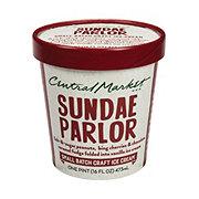 Central Market Sundae Parlor Ice Cream