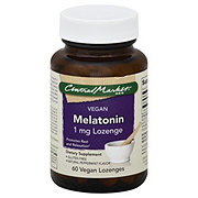 Central Market Vegan Melatonin 1 mg Peppermint Flavor Lozenges